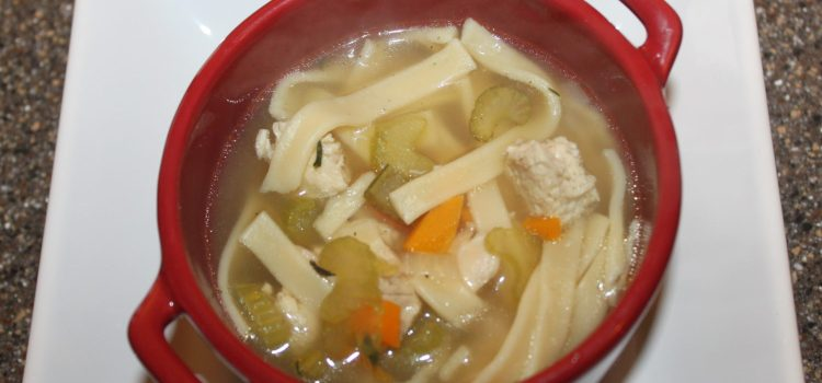 Old-Fashioned Chicken Noodle Soup Recipe – Warming Soup For The Soul