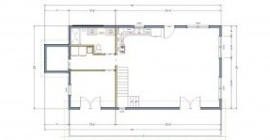 simple house floor plan
