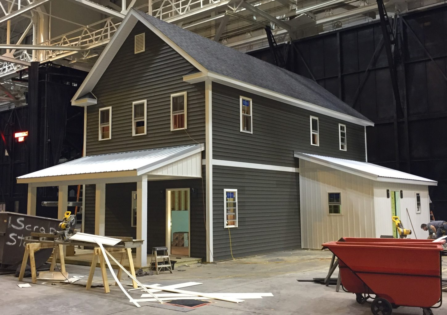 Construction continues on the Weaver Barns Urban