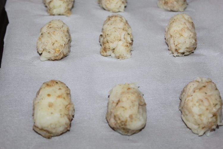 baked tater tots