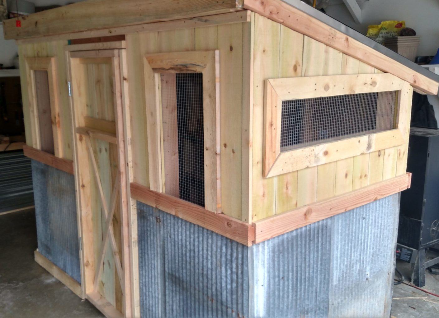The Recycled Chicken Coop Pallet Project Old World