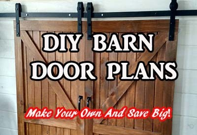 DIY Barn Doors – How To Build Your Own and Save Big!