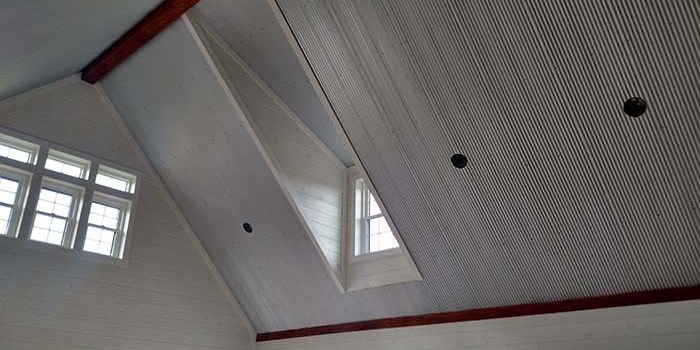 The Bold Look And Low Cost Of Metal Ceilings And Walls