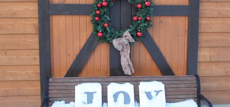 Christmas Decorating And Winter At The Farm – In Photos