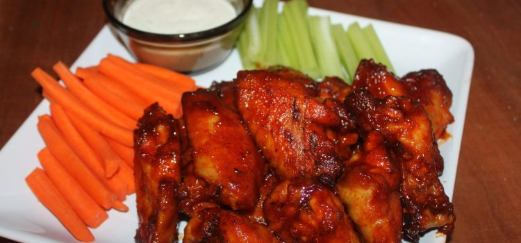 Baked Honey Barbecue Wings Recipe – A Super Bowl Party Hit!