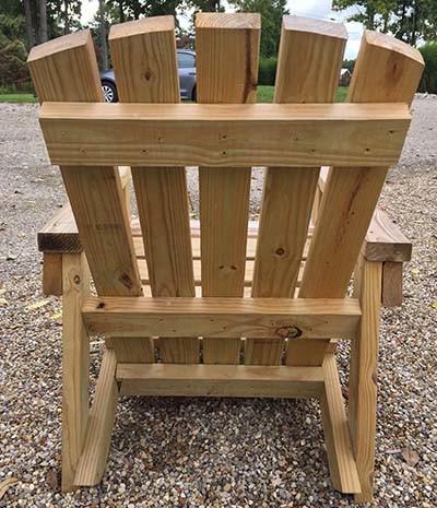 2x4 diy adirondack chair