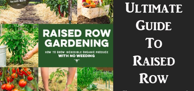 raised row gardening - the book