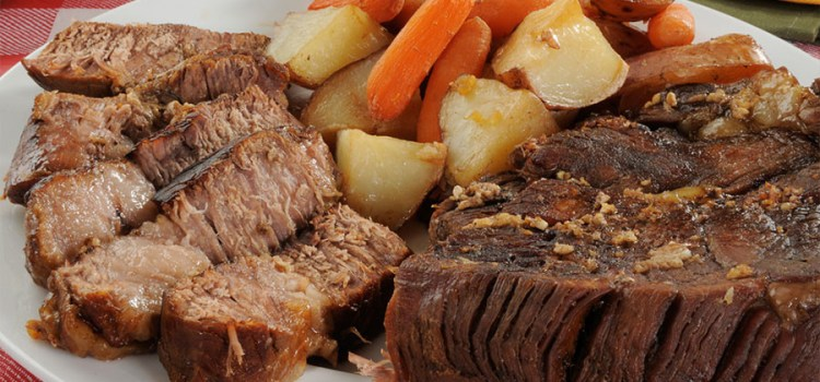Moist and Delicious Slow Cooker Pot Roast and Vegetables Recipe