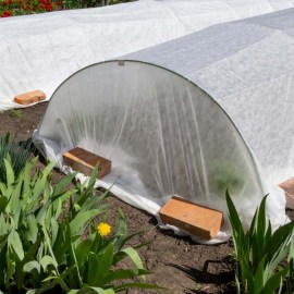 Using Row Covers To Protect The Garden From Pests And Frost