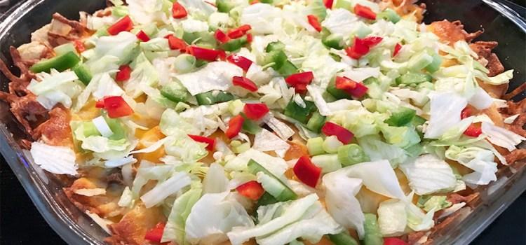 Cheesy Taco Casserole Recipe – An Easy To Prepare, Make Ahead Dish