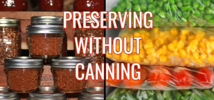 Preserving Vegetables Without Canning – Saving Summer's Harvest!