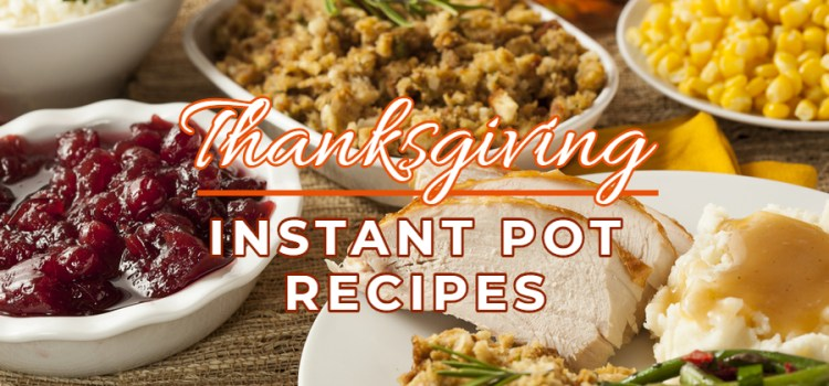 Instant Pot Thanksgiving Recipes! Delicious Time & Space Saving Magic!