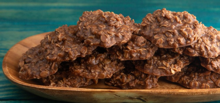 The Secret To Making Chocolate Peanut Butter No Bake Cookies