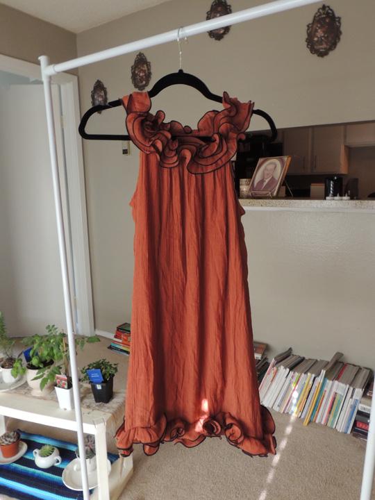 ruffle-dress-thrift-store