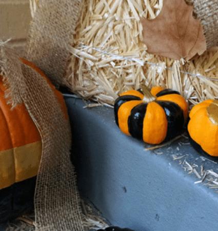 Halloween No-Carve Pumpkin Decorating DIY