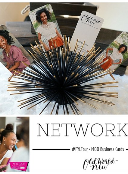 3 Networking Tips + MOO Green Business Cards