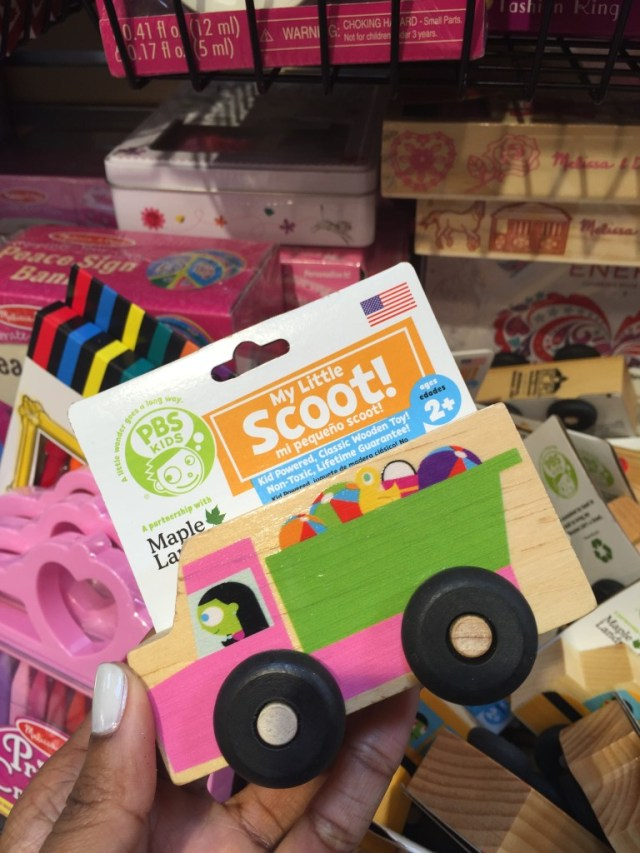 PBS Kids toys at Whole Foods Market via Old World New