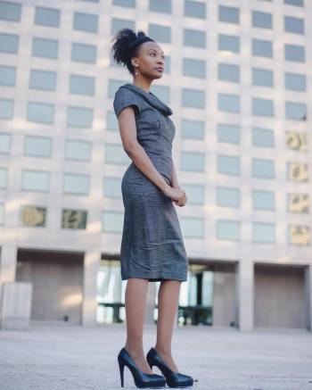 Zara dress: Thrift Giant