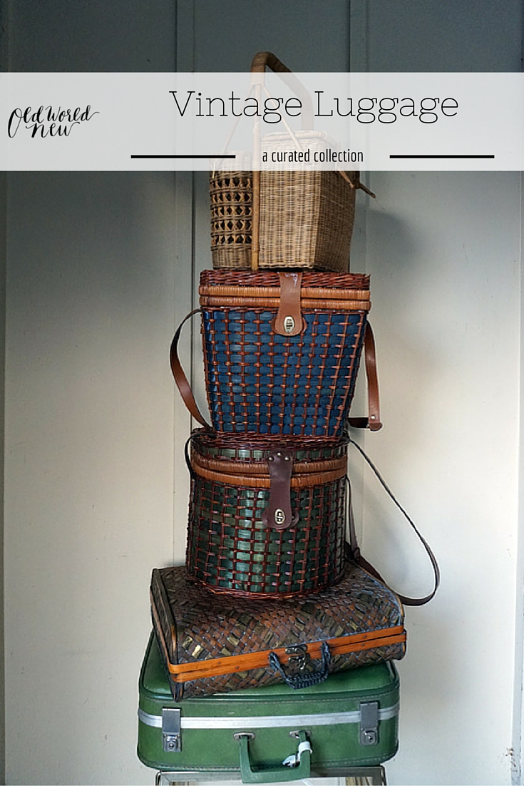 Vintage Luggage Collection by Old World New