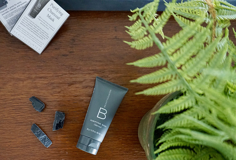 beauty counter green beauty charcoal skin cleaners
