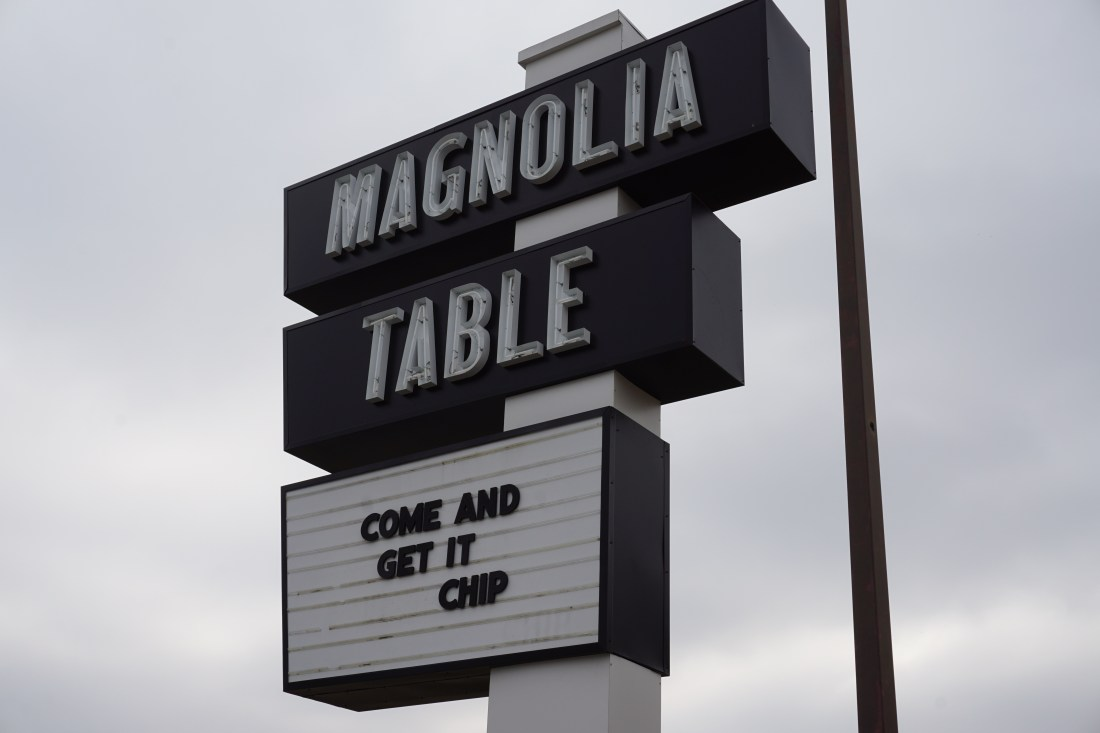 Magnolia Table restaurant by Chip & Joanna Gaines in Waco, TX - Addie, Old World New