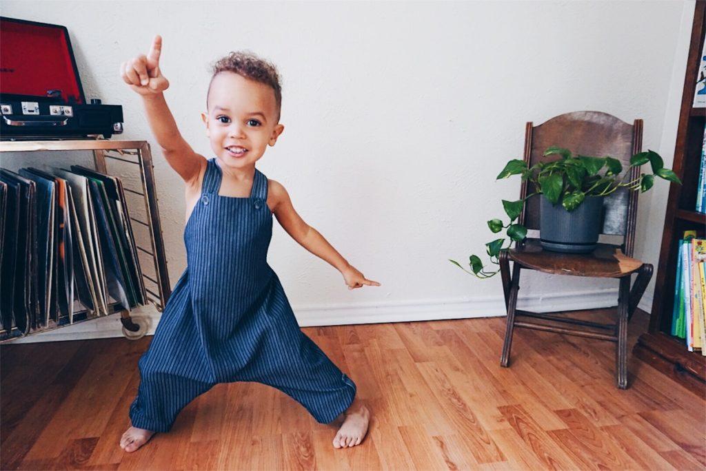 Greyson - Tiny Green Earthling - Beya Made - eco-friendly children's clothing
