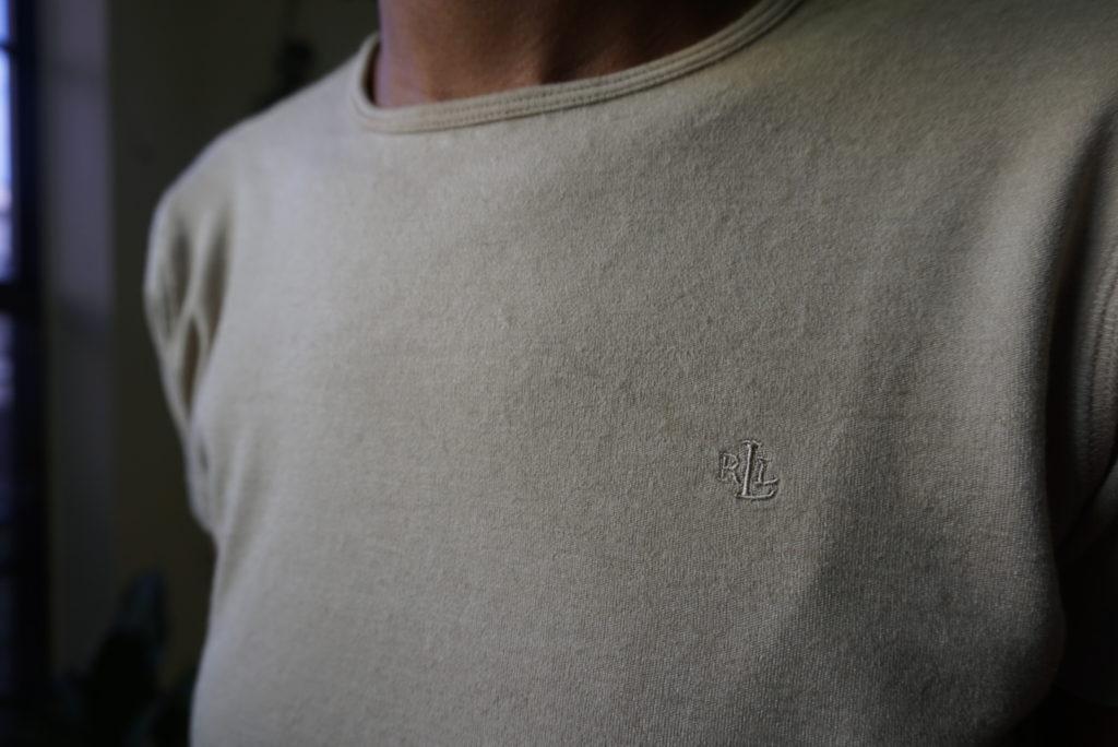 vintage Lauren Ralph Lauren crop tee sweater