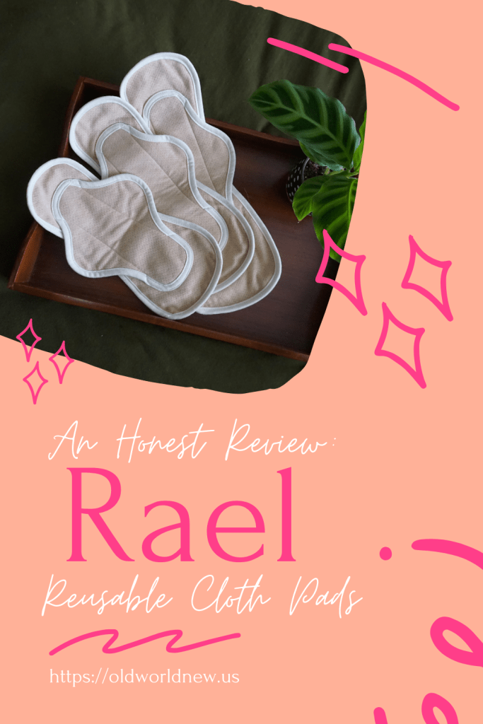 reusable cloth pads by Rael