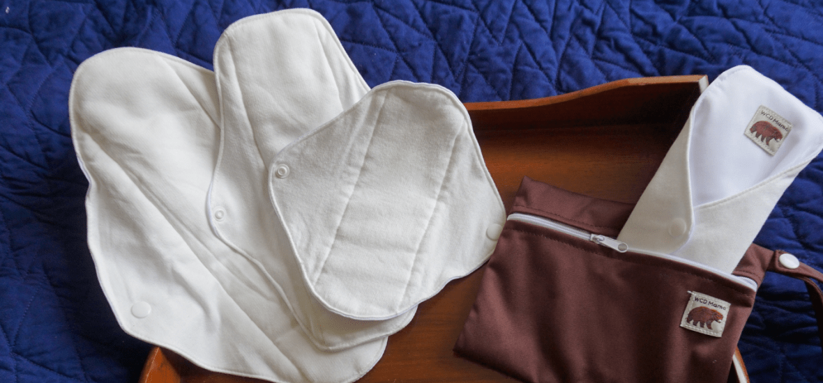 west coast dipe wcd mama reusable cloth pads
