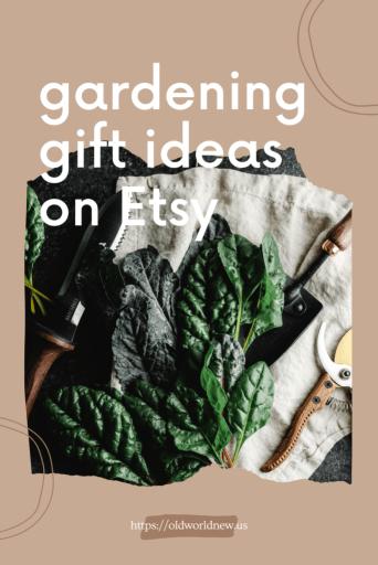 Gardening Gift Guide - Etsy