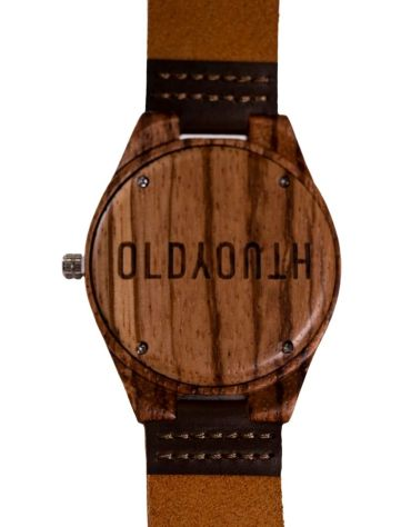 wooden watch back