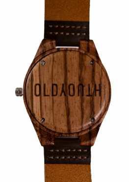 wooden watch back