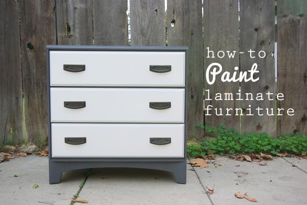 Exceptionnel How To Paint Laminate Furniture