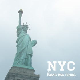 New York City – here we come!