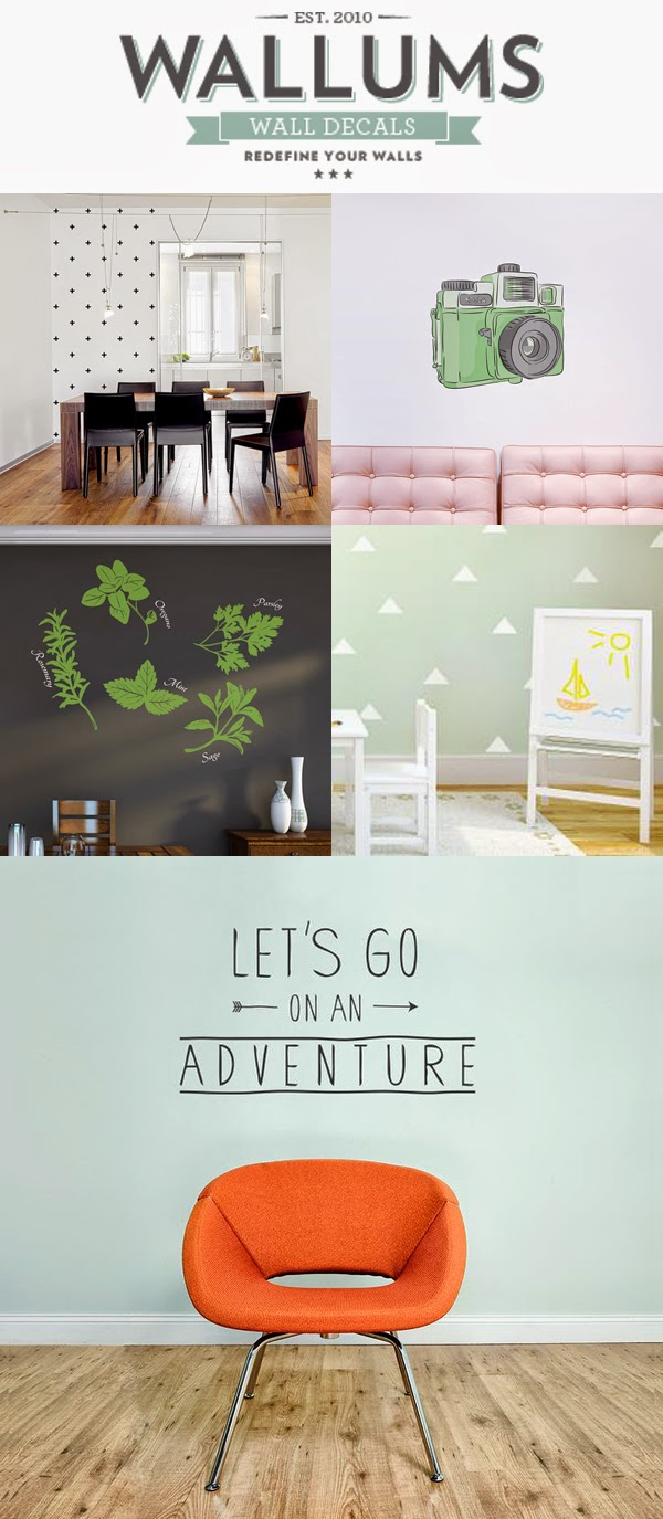 Wallums Wall Decals Giveaway