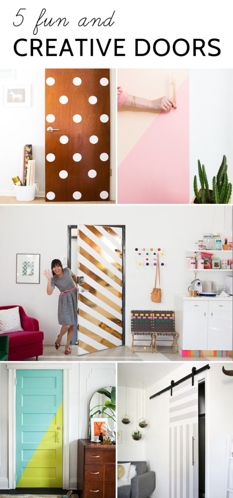Fun And Creative Door Ideas Oleander Palm