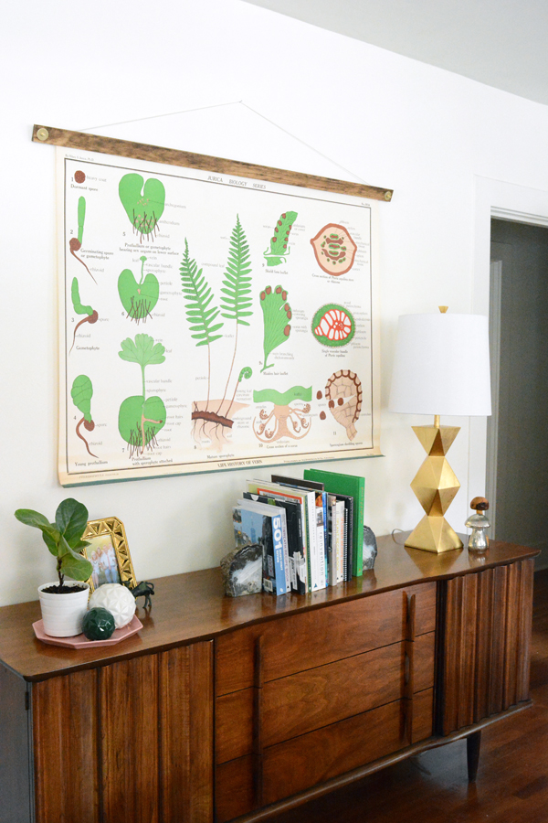 DIY Chart and Poster Frame - Oleander + Palm