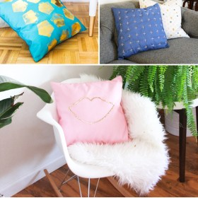 5 Ways to DIY – Pillows