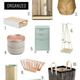 10 Stylish Items To Get Your Home Organized