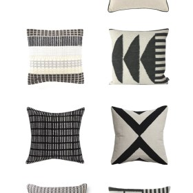 Black and White Pillows – The Accessory for Every Season