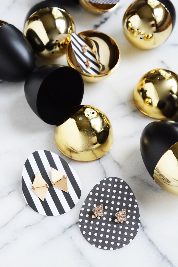 black and gold eggs 5