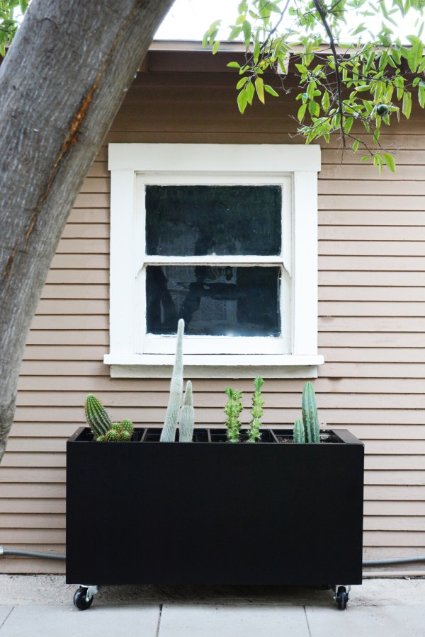DIY Filing Cabinet Planter - convert an old filing cabinet into a sleek, modern planter.