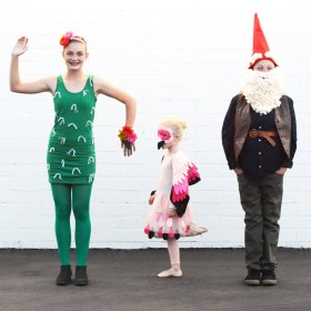 """From the Garden"" Halloween Costumes For Siblings"