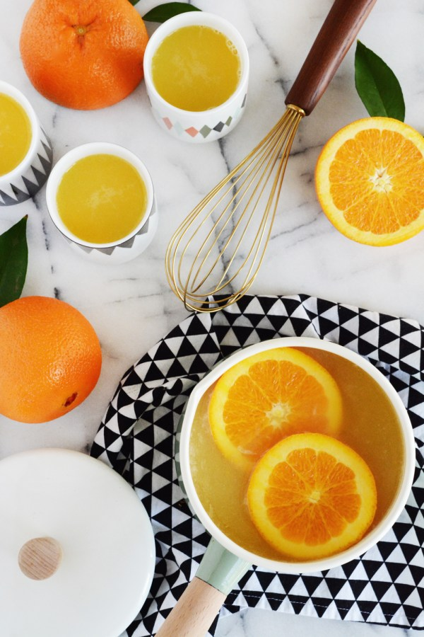 Hot Almond-Citrus Punch