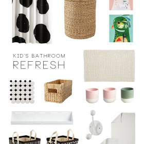 Kid's Bathroom Refresh