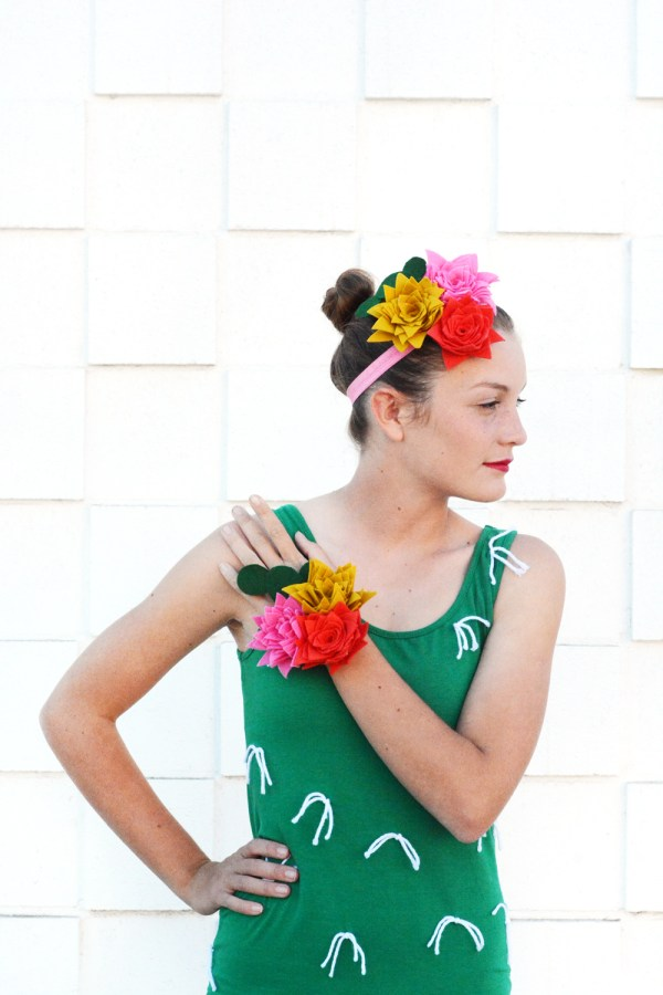 DIY Cactus Halloween Costume