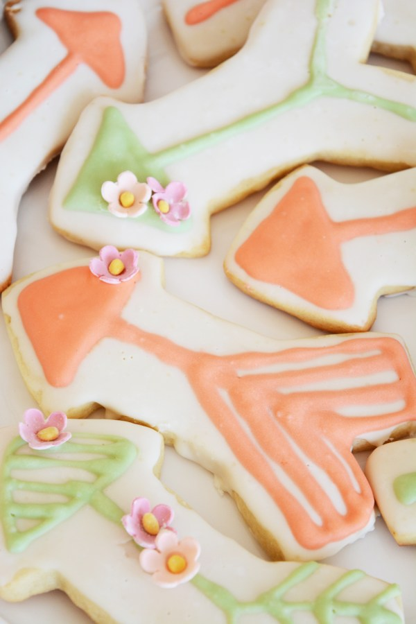 Arrow Cookies