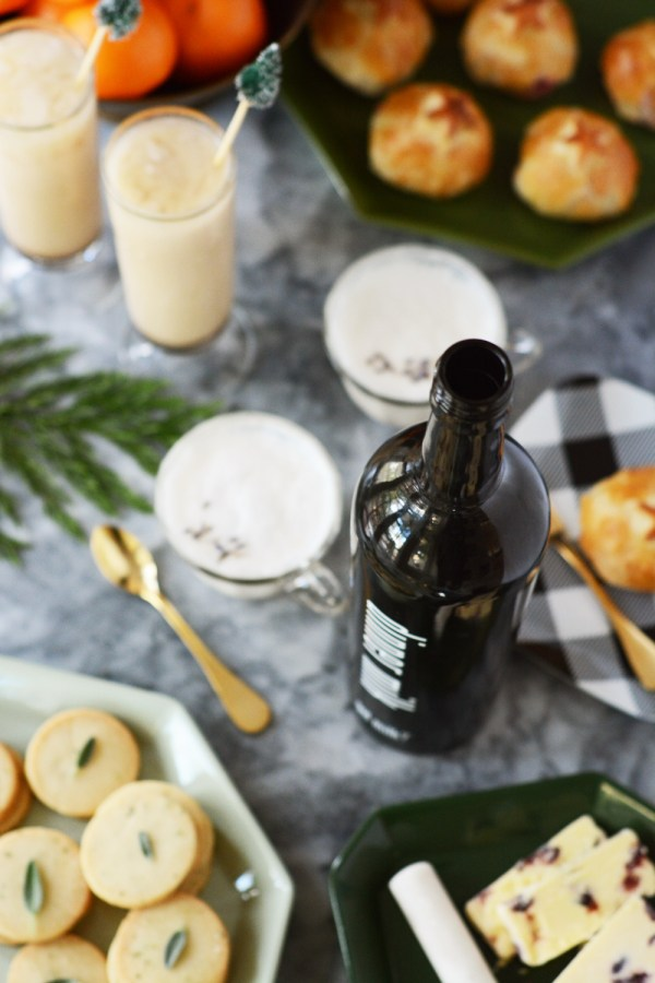Milk Mocktails and Appetizers
