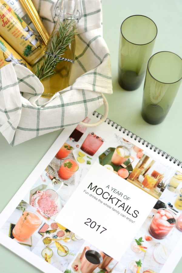 Mocktail Calendar made the Mixbook