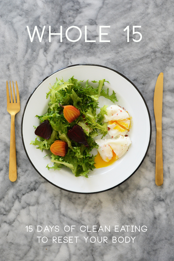 Whole 15 - a 15 version of the popular Whole 30 Program